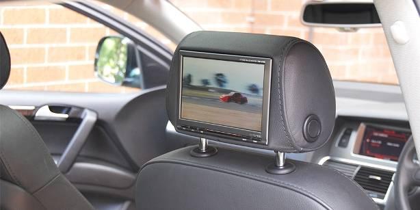 Audi Q7 Headrest