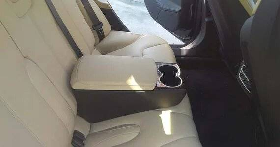 Tesla Model S Premium Rear Console Installed