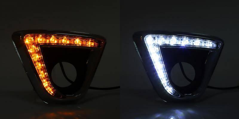 car led daytime running light turn