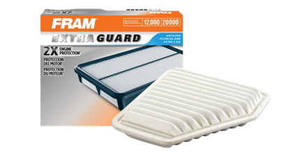 quicksnap FRAM CA10169 Extra Guard Panel Air Filter