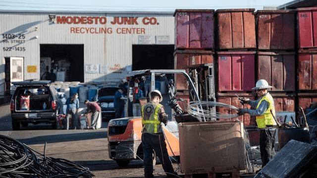 Modesto Junk Company – Metals & Scrap Recycler Modesto California