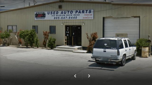 Tri-County Auto Dismantlers and Salvage Santa Paula California