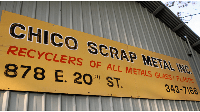 Chico Scrap Metal Inc Chico California Junkyard
