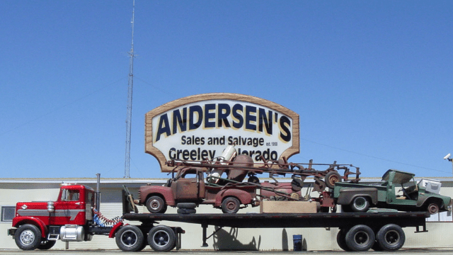 Anderson's Sales salvage INC Greeley Colorado