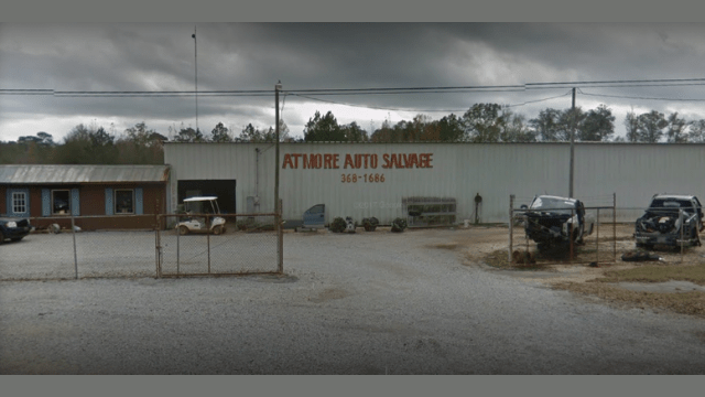 Atmore Salvage Yard Alabama