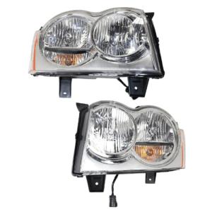 2005 Jeep Grand Cherokee Headlights