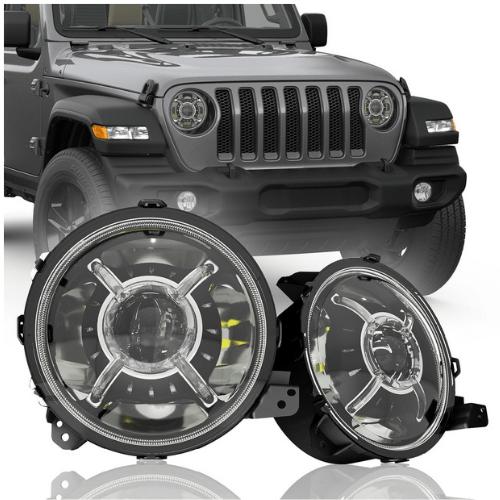 Jeep tj led Headlights